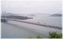 瀬戸大橋を一望